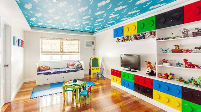 In this Family Home, the Kids Have a Lego-Inspired Playroom