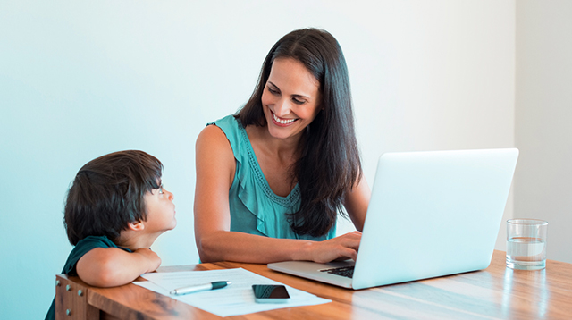 Don't Think for One Second It's Easy to Be a Hands-on Mom When You Work from Home