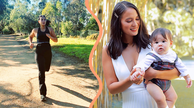 10 Times Isabelle Daza Showed How Their Family Values Fitness