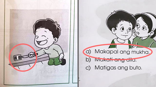 This Mom Was Bothered by Her Son's Filipino Textbook and Decided to Do Something About It