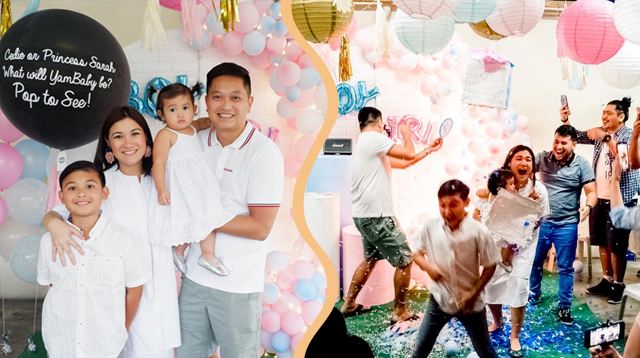 It's Going to Be a Boy for Camille Prats and VJ Yambao!