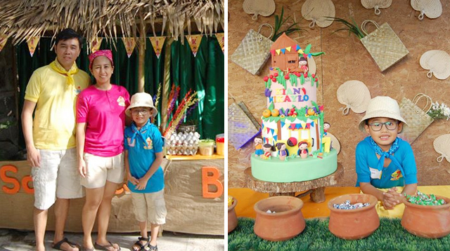 How Fun! This Boy Had a Pistang Pinoy Celebration for His 7th Birthday!
