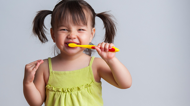 Your Toddler Has Cavities Already? She Might Be Using Too Much Toothpaste