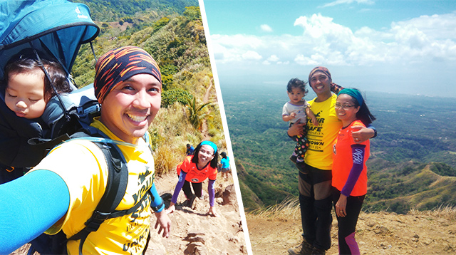 Meet a Filipino Family Who Conquers Mountains With Their Toddler!
