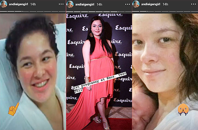 andi eigenmann second trimester