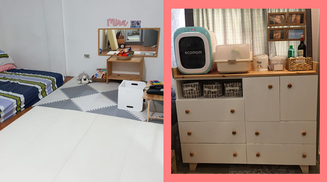 Moms Share Photos How They Organize the Bedroom They Share With Their Kids