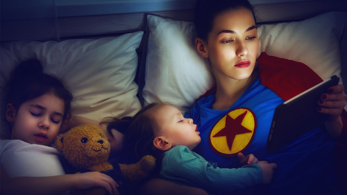 It Feels Like You Need to Do Everything to Be a 'Great Mom.' But It's Okay to Ask for Help