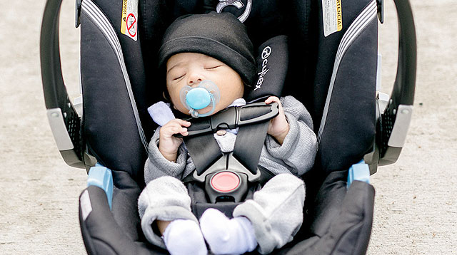 How to Position Your Baby's Head in a Car Seat (and Do the Pinch Test!)