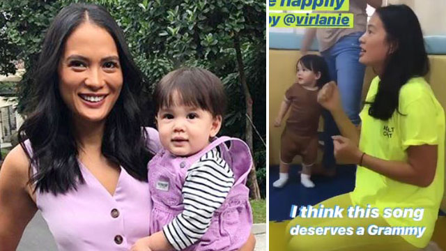 Isabelle Daza Celebrated Son Baltie's 1st Birthday at an Orphanage