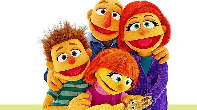 The Family of Julia, the Muppet With Autism, Joins Her in Sesame Street!