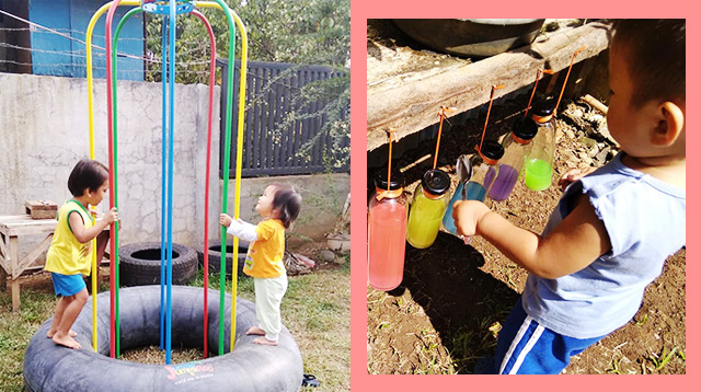 Working Mom From Davao City Transforms Backyard Into a Natural Playground for Toddler