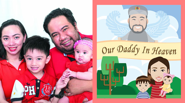 Mom Creates Children's Book to Help Her Kids Cope with their Father's Passing