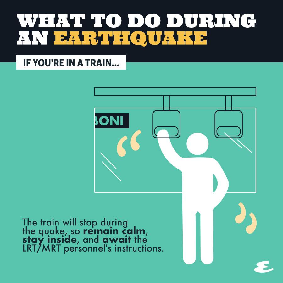 earthquake train
