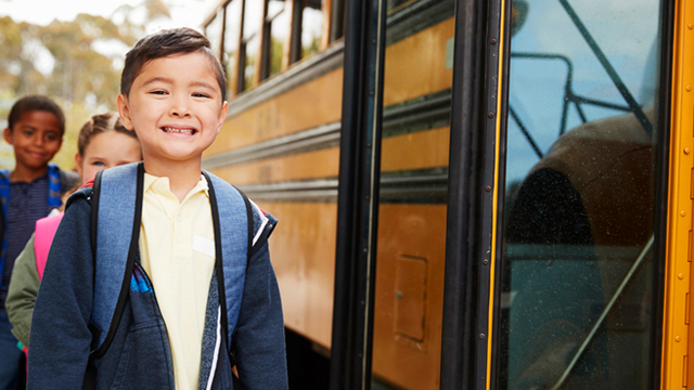 How to Help Your Child Get Used to Riding His First School Service