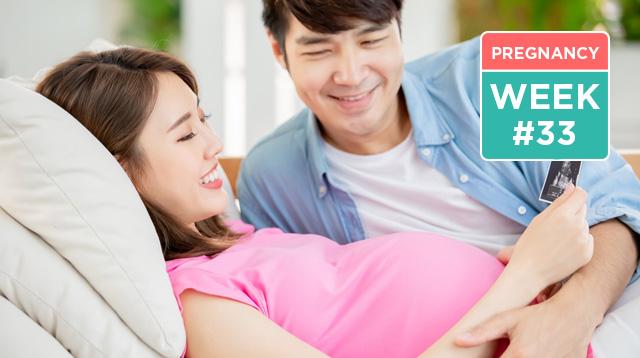 Pregnancy Symptoms Week 33: Baby's Kicks Are Stronger Now!