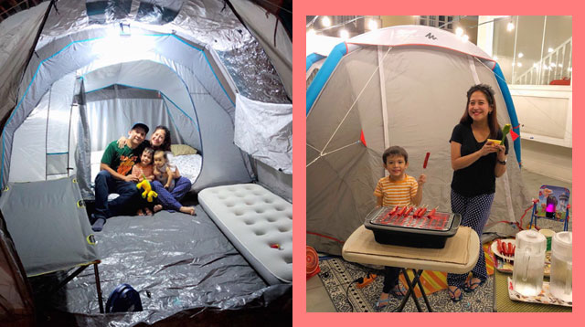 Jolina Magdangal and Mark Escueta Show Their Version of a Staycation!