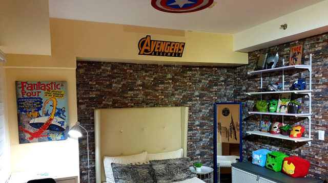 Let Your Kids Feel Like They're Part of the Avengers in this Condo for Rent