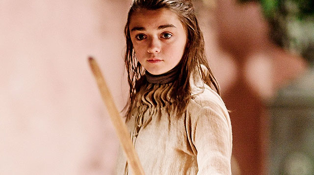 We Bet More Daughters Will Be Named Arya After Episode 3 of 'Game of Thrones'