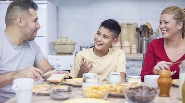Eating Breakfast as a Family Routine Has a Lifelong Impact on Your Child!