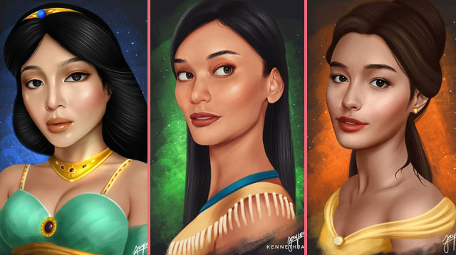 Pinay Celebrities As Disney Princesses: Can You Guess Who They Are?
