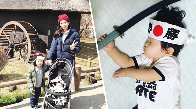 This Pinay Coped With Being a Stay-at-Home Mom in Japan by Taking These Adorable Photos