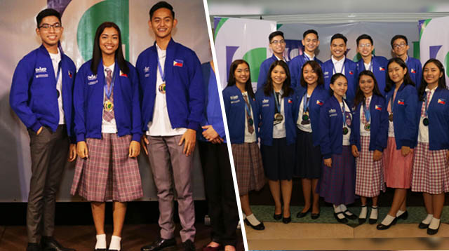 12 Pinoy Public High School Students Wowed at the Olympics of Science Fairs in the U.S.