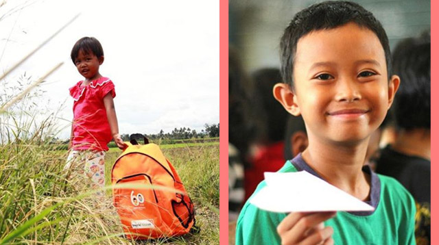 At Php750 a Month, You Can Help a Child Go to School