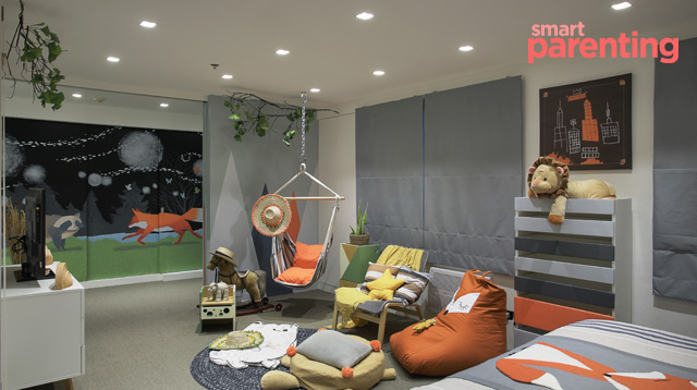 A Look Inside Baby Baz Go's Playroom