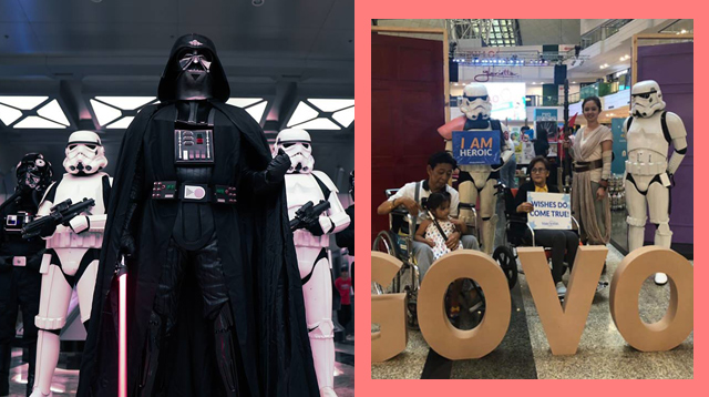 This Group of Star Wars Fans Does Charity Work Dressed as Villains!