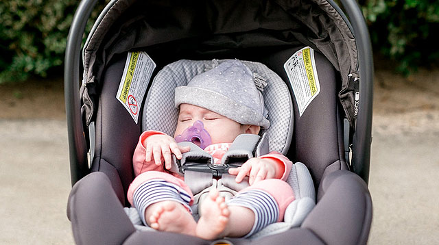 Pediatricians Warn Against Letting Babies Sleep in Car Seats