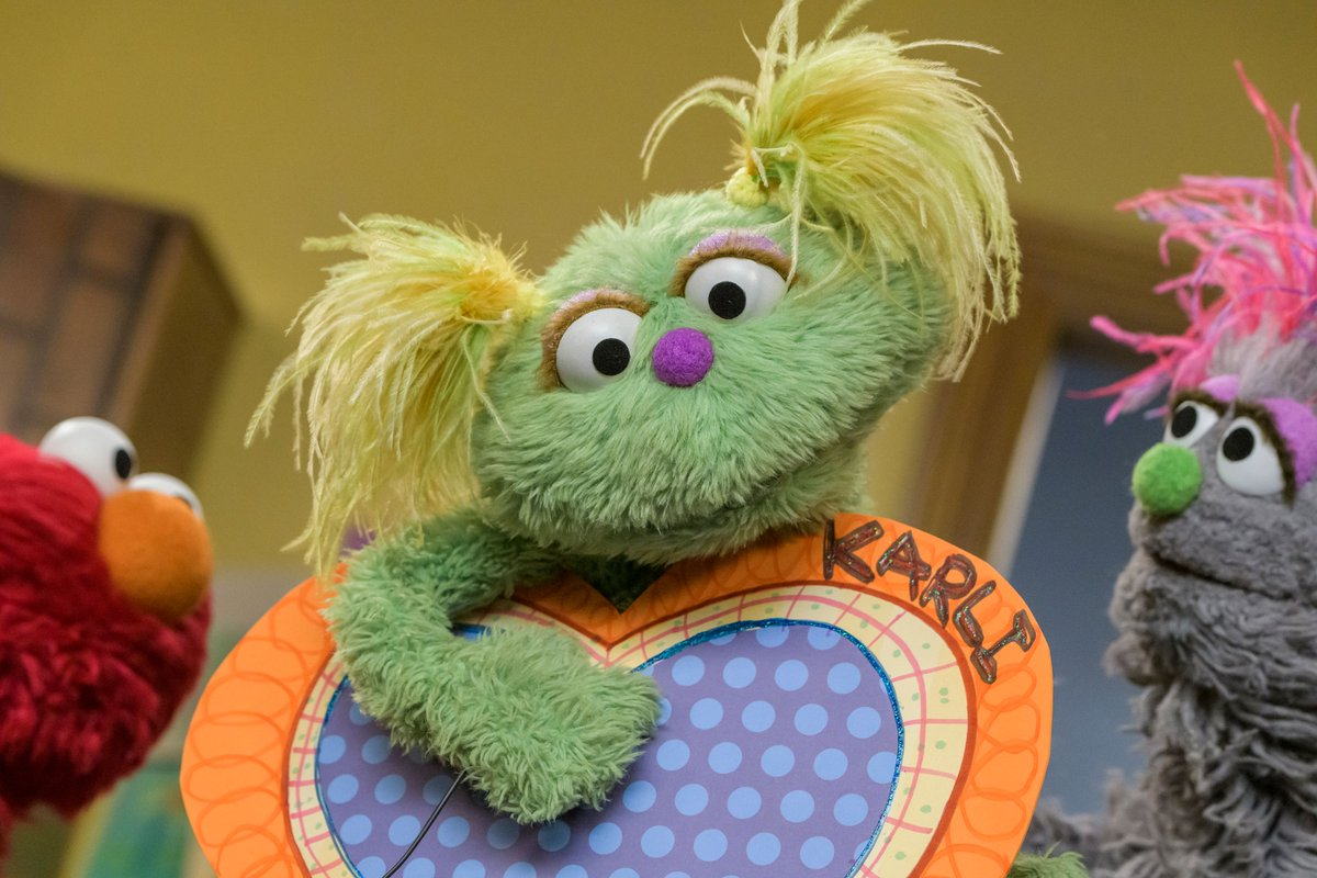 Sesame Street's Newest Muppet Karli Has 'For Now' Parents
