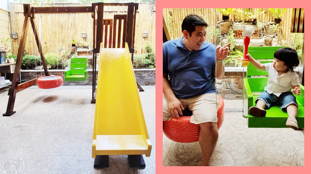 This Dad Was Not Happy With the Slide-and-Swing Sets He Saw, so He Built One Instead