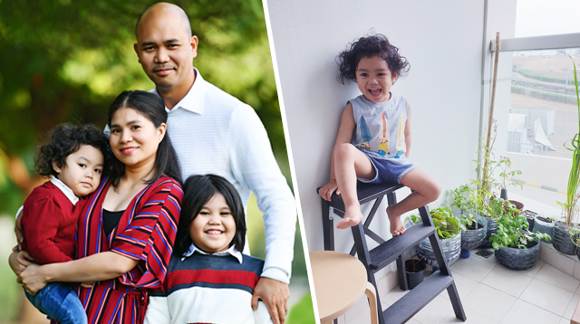 A Filipino Family Based in Dubai Shares How Living With Less Made Them Happier