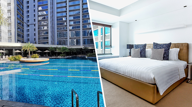 This Hotel Tops TripAdvisor's List of Best Hotels in Makati! (We Love the Pool!)