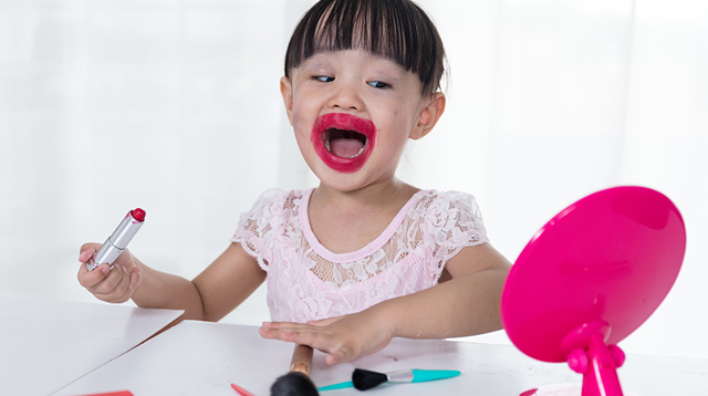 Cosmetics Are Not Toys: Personal Care Products That Can Be Harmful to Your Child