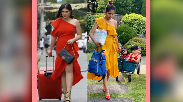 Pinay Mom from Canada Goes Viral in Hilarious 'Gaya-Gaya' Photos
