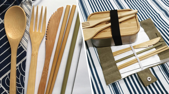You're Doing Your Part Helping the Environment When You Bring Your Own Reusable Utensils