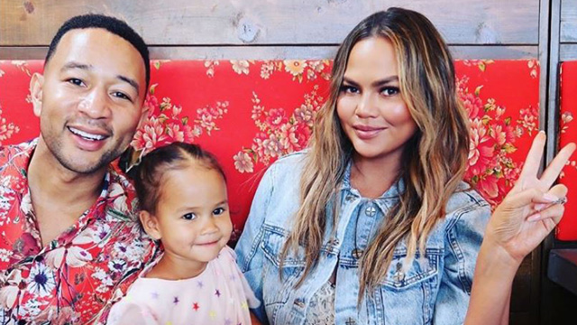 Netizens Shame Chrissy Teigen for Bringing Her Daughter to the Dentist