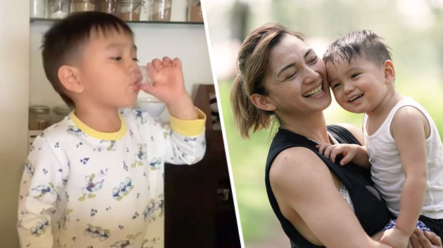 How Iya Villania Got Primo to Drink Medicine Without a Power Struggle