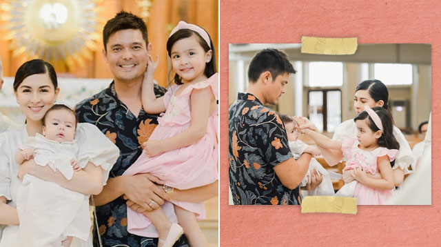 Marian, Dingdong and Zia Welcome Ziggy to the Christian World!