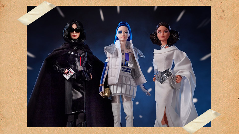 Ever Imagined Darth Vader as a Barbie Doll? Check Out These Star Wars Barbies!