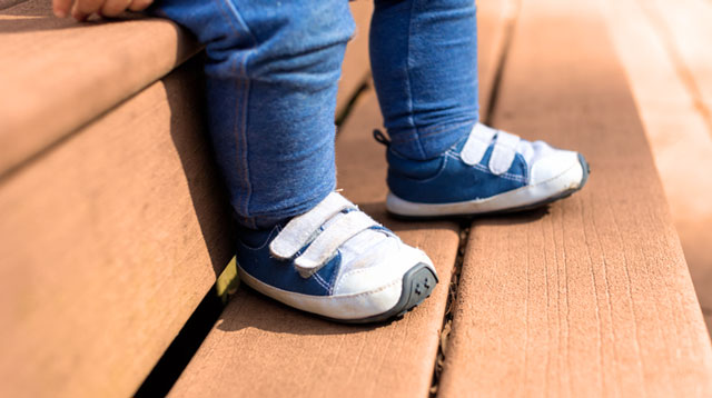 Is It Okay for Your Tot to Wear Hand-Me-Down Shoes?