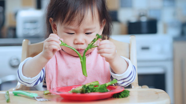 Sharpen Your Child's Senses and Build Her Vocabulary With This Vegetable Activity!