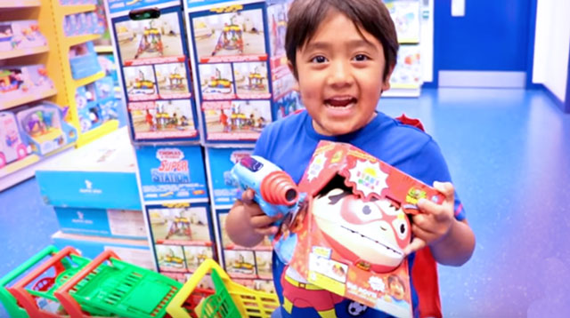 YouTube Channel Ryan ToysReview Accused of Misleading Kids With Paid Content