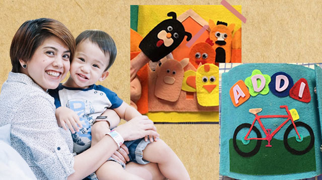 Pinay Physician Mom DIYs 'Quiet Book' to Help Toddler Son Avoid Gadgets