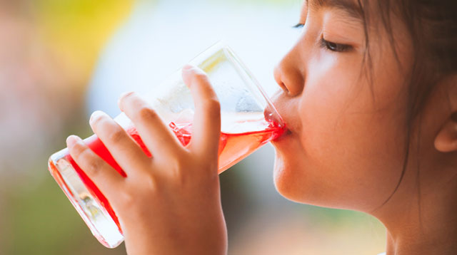 Fruit Juice Is Not Recommended for Children Below 1 Year Old