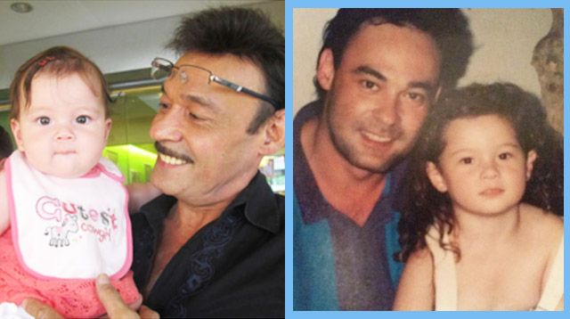 Andi Eigenmann Shares the Most Adorable Lolo-and-Apo Photo on Dad Mark Gil's Birthday