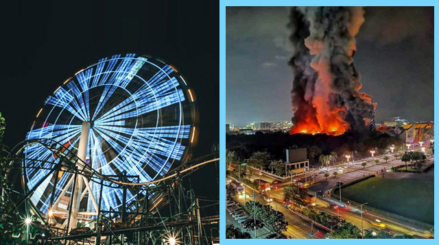 Star City Burns Down; Family Pasyalan Will Be Closed for the Holidays