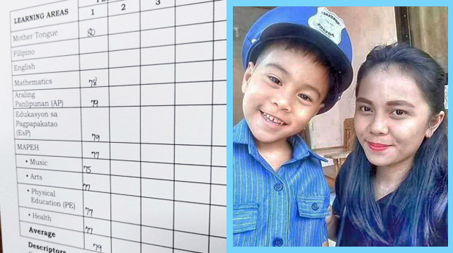 Mom of 6-Year-Old Boy Who Got Bad Grades in School Thanks Her Son for an Important Lesson