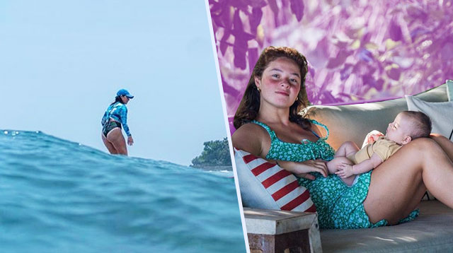 Andi Eigenmann Surfs Again; Says Her Postpartum Body 'Still Feels Sort of Broken'